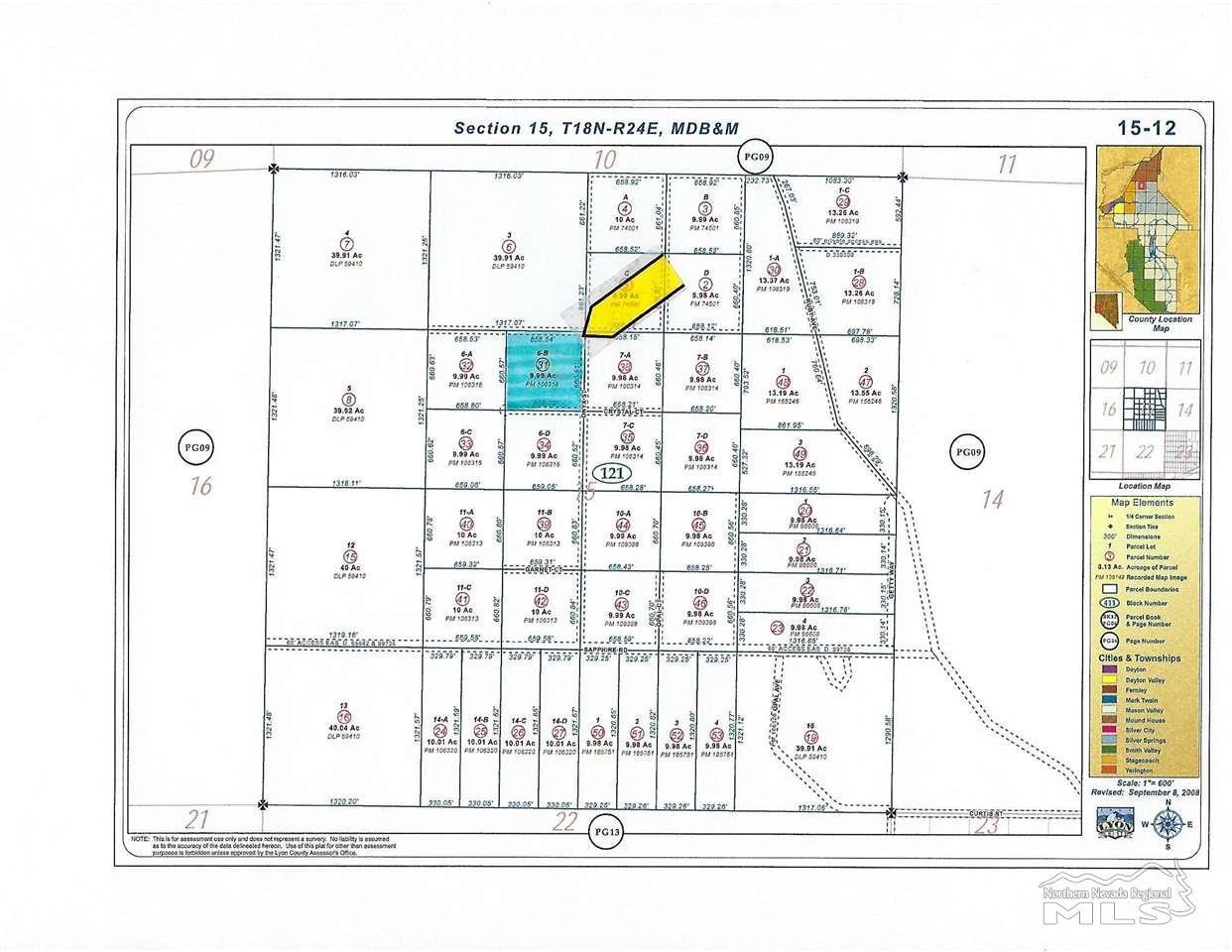 1325 Crystal Court , 210005869, Silver Springs, Vacant Land / Lot,  for sale, Realty World - Ballard Co., Inc.